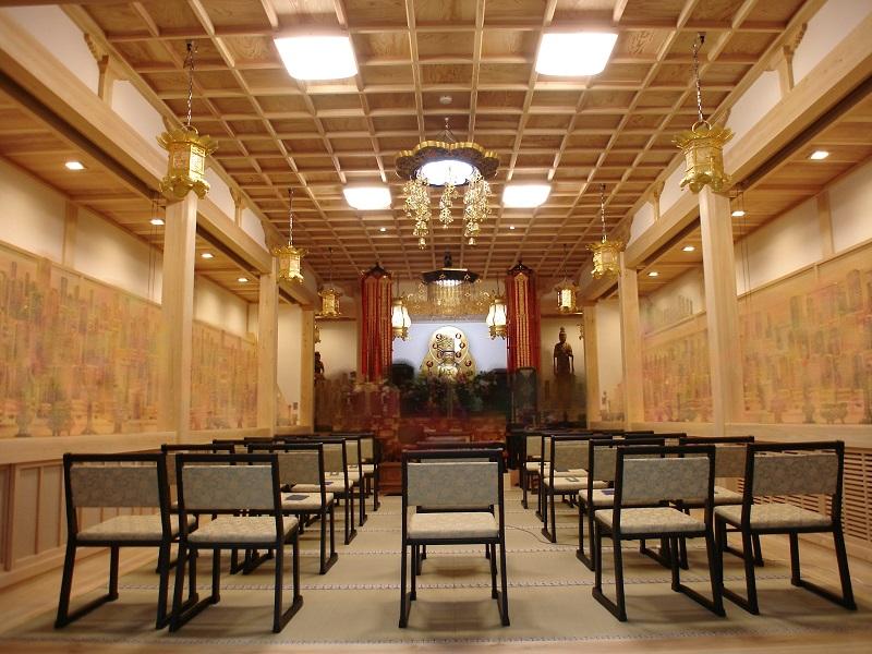 丹州観音寺様位牌堂新築