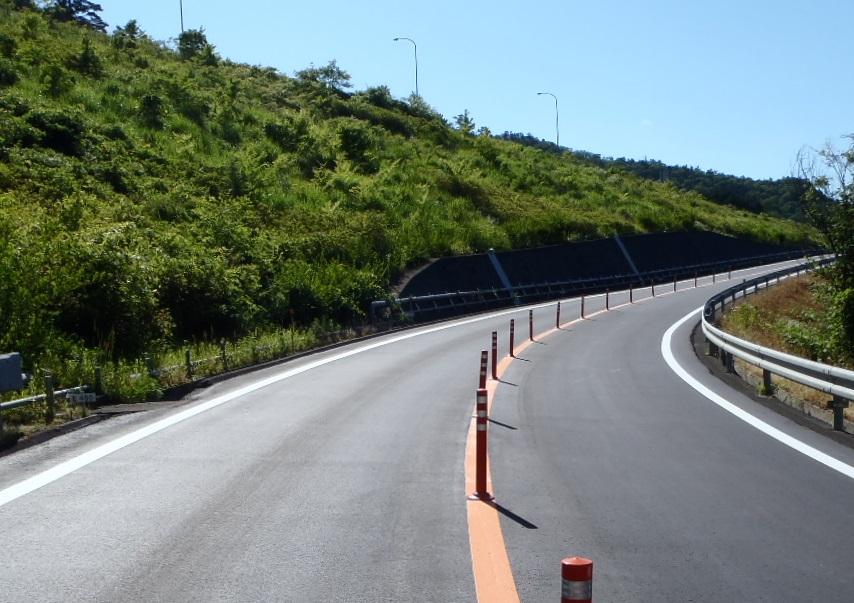 京都縦貫自動車道舗装修繕