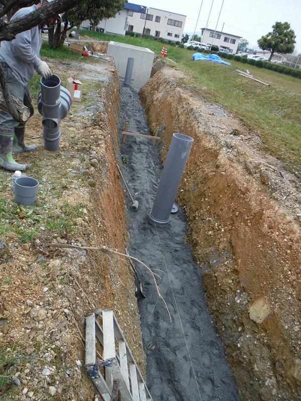 N社 排水貯留槽