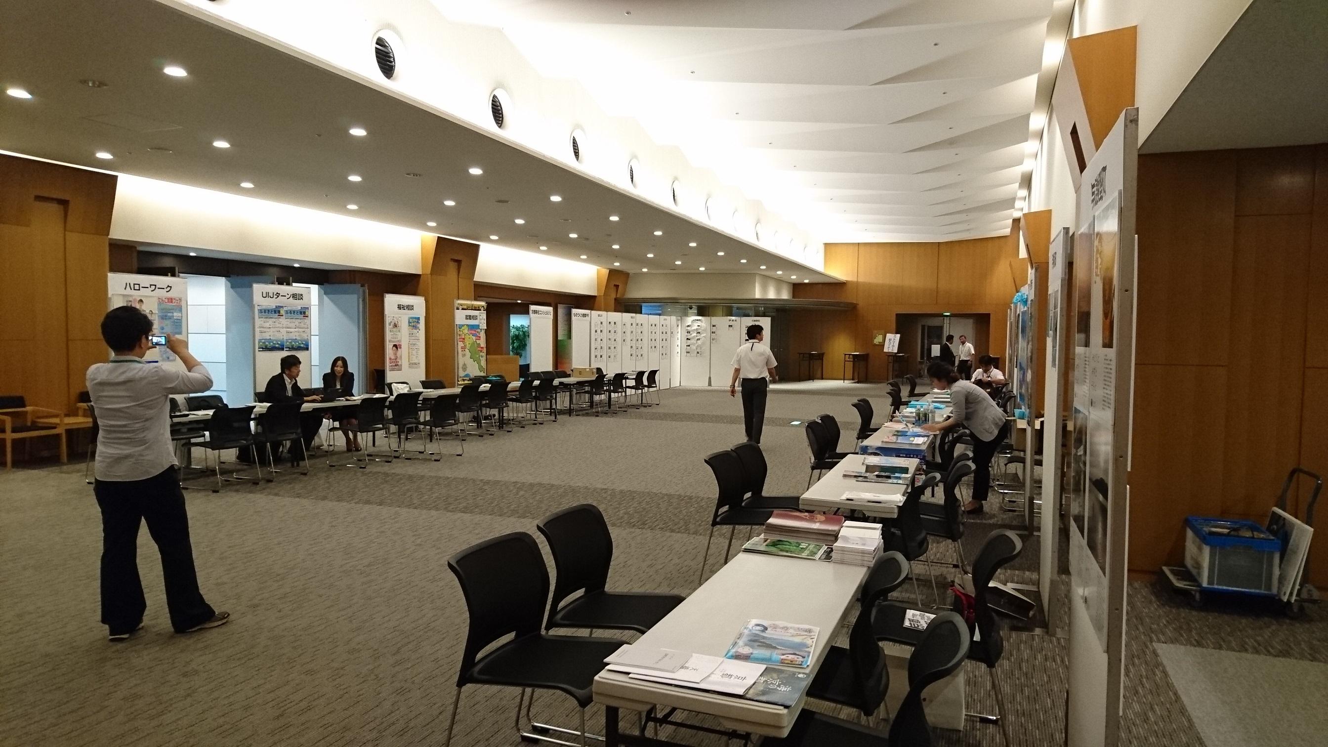 2016合同就職面接会 (開催前ロビー)