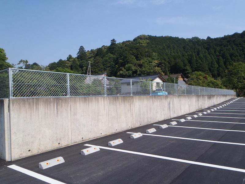 大呂自然休養村テニスコート跡地駐車場整備工事