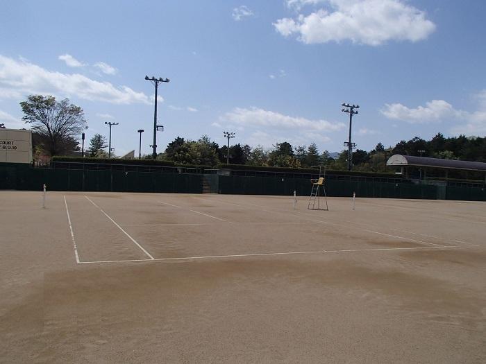 三段池公園テニスコート改修工事
