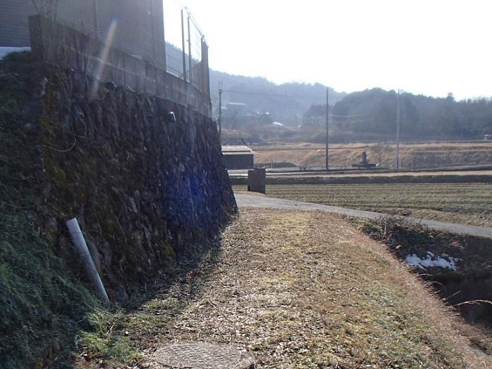 今安地区農道舗装工事
