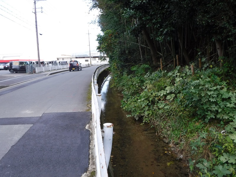 法川排水区 本堀1号雨水排水路改修工事