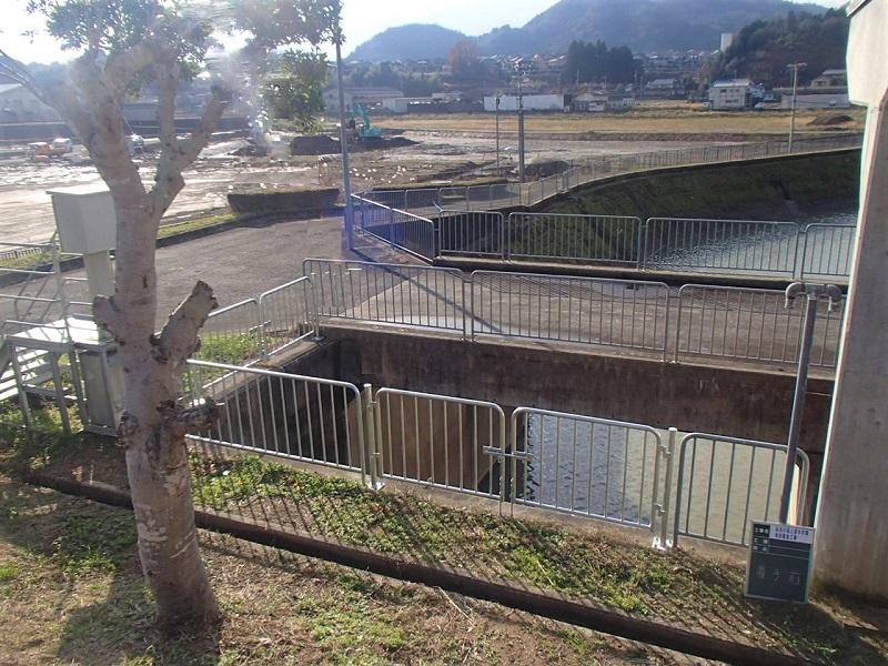 弘法川 床上浸水対策特別緊急工事