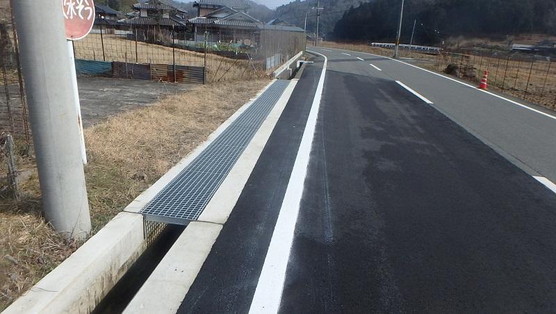 管内一円(京丹波三和線他)地域振興道路工事