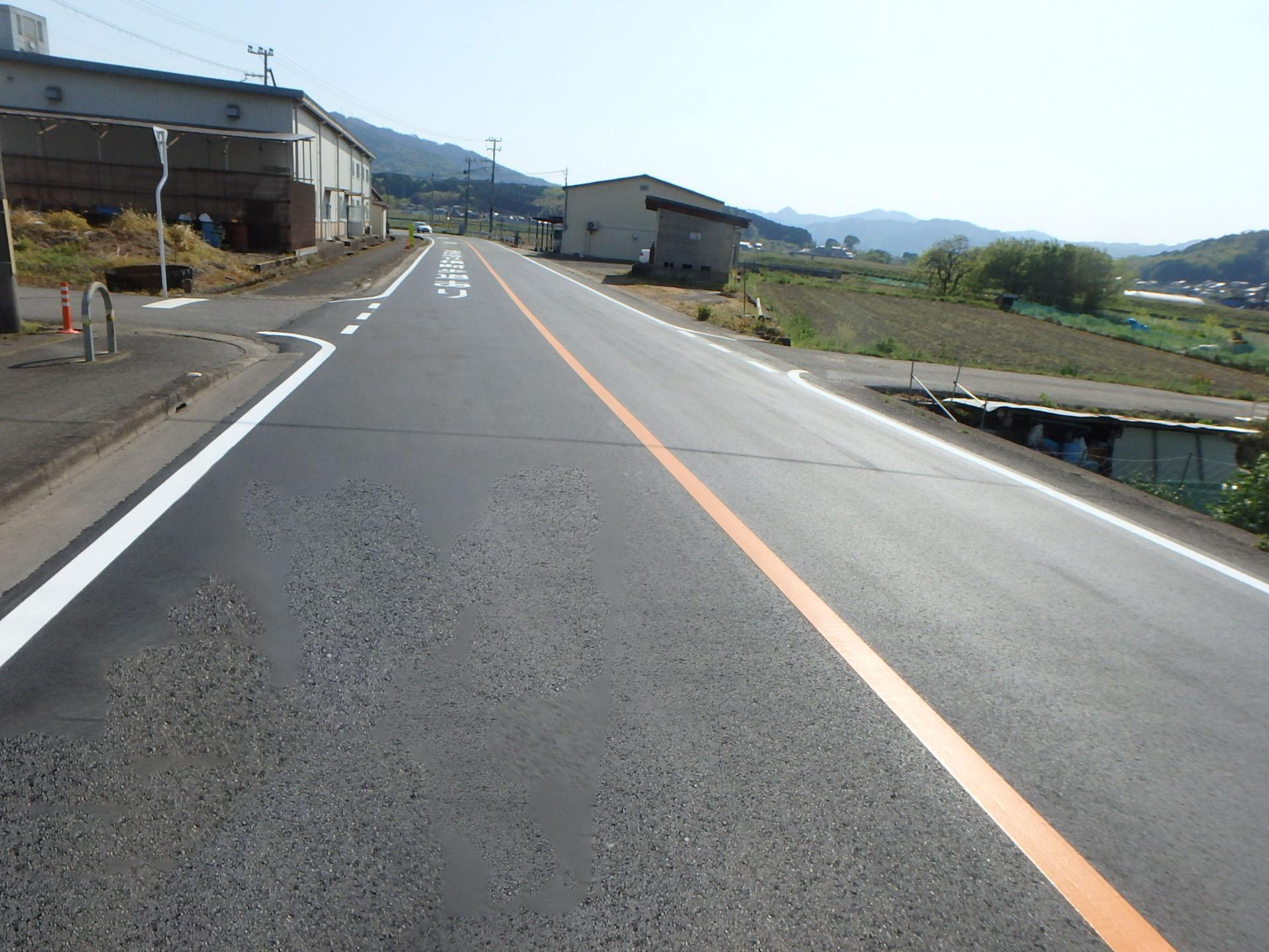管内一円(岩崎市島線)地域振興道路工事