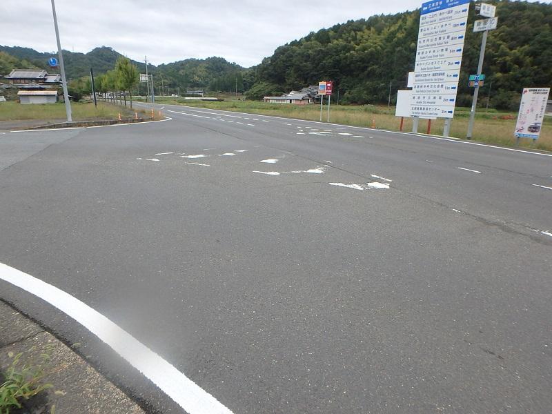 綾部インター線他 地域振興道路工事